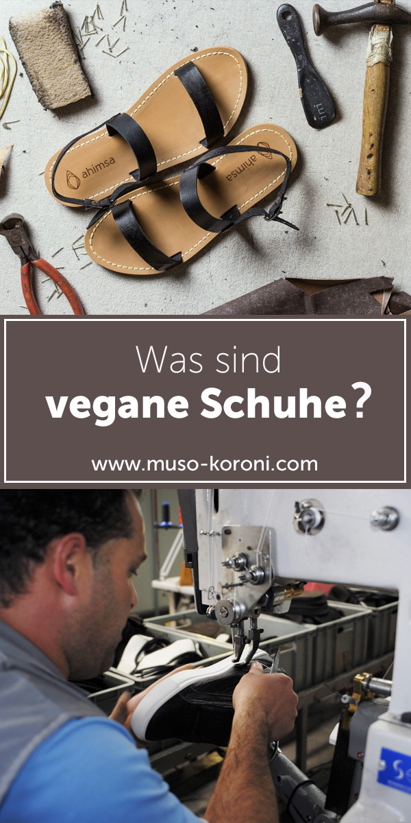Was sind vegane Schuhe