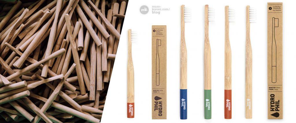 Hydrophil Bambus Zahnbürsten