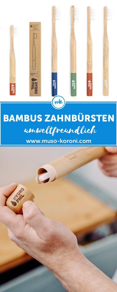 Bambus Zahnbürsten von Hydrophiil